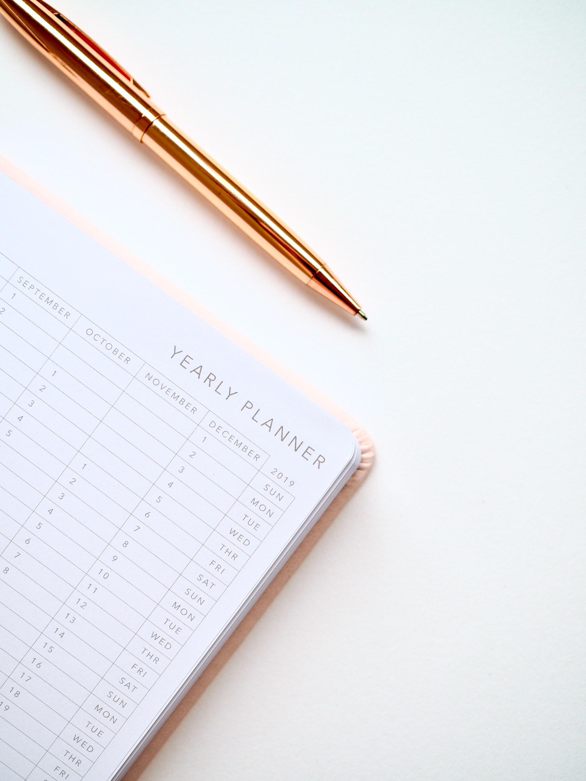 kako isplanirati godinu u 10 koraka